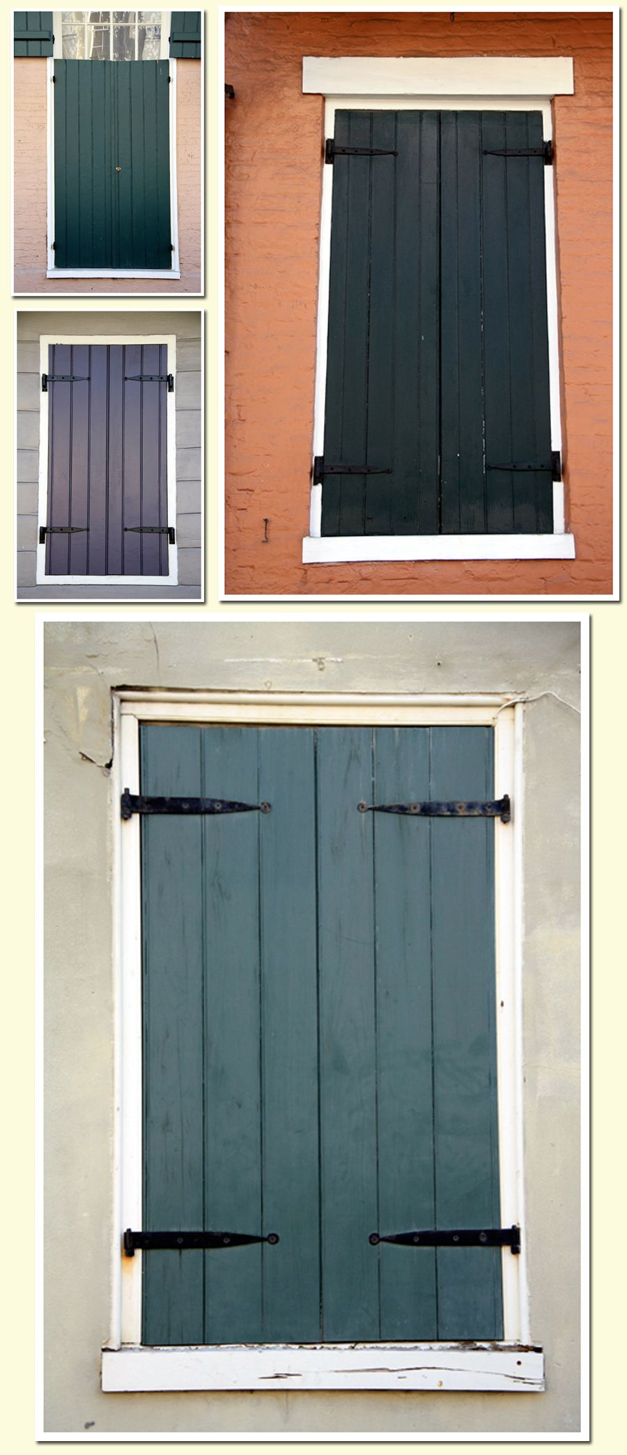 New Orleans . . . . I want these shutters on my house