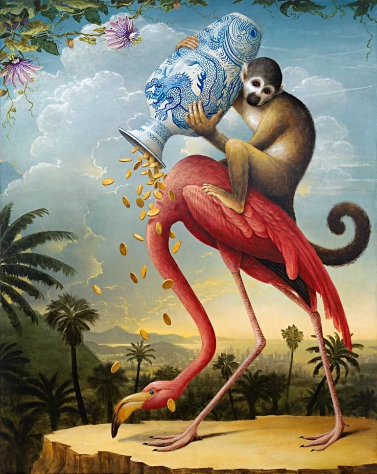 "Kevin Sloan, ""Birds of America: The Donation"""