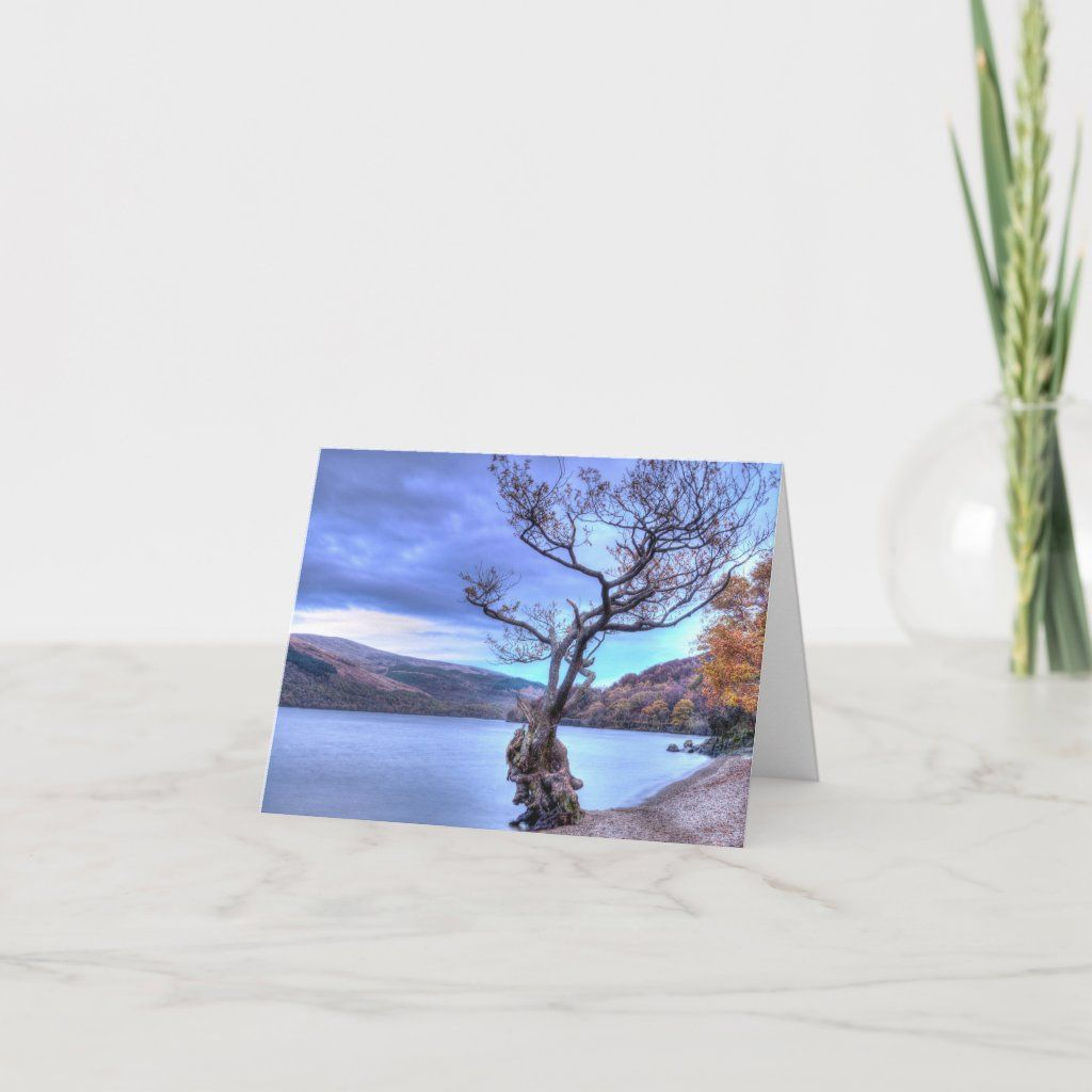 Loch Lomond, Scotland Greeting card