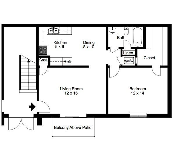 Shadowood Apartments 1 1 Floor Plan Is 679 Sq Ft Floor Plans Apartment How To Plan