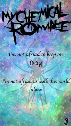 My Chemical Romance Iphone Wallpaper Famous Last Words Galaxy