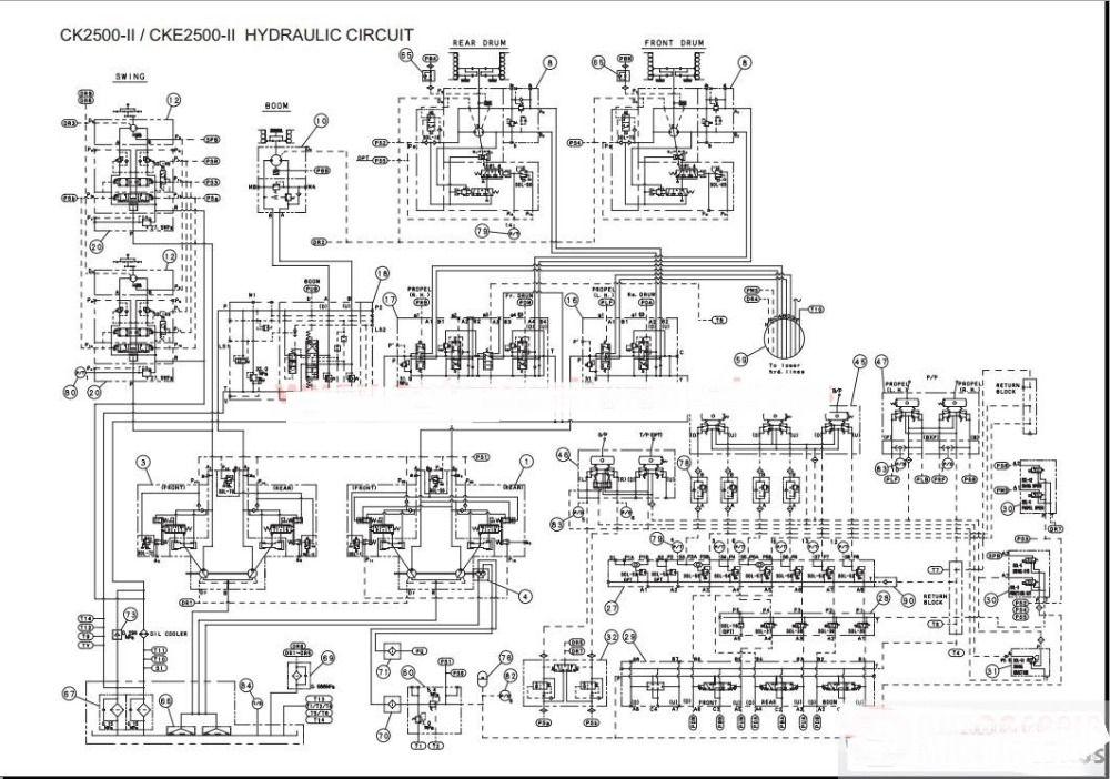 kobelco crane shop manual operator  maintenance manual