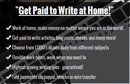 writing careers list