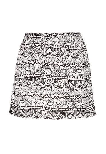 ethnic print pull on skirt - maurices.com