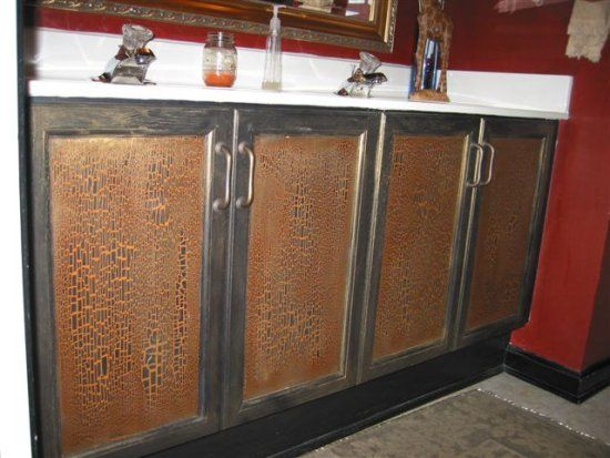 crackle cabinets - Google Search   Bathroom   Pinterest   Shabby ...