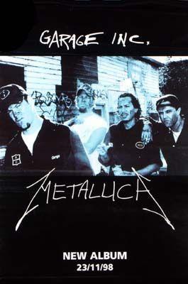 Metallica Garage Inc Poster C5 Posters Fine Art Prints
