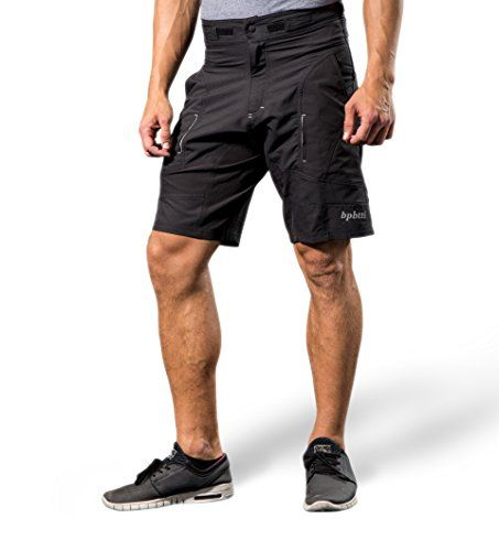 Bpbtti Mens Baggy Mtb Mountain Bike Shorts With Removeable Biking