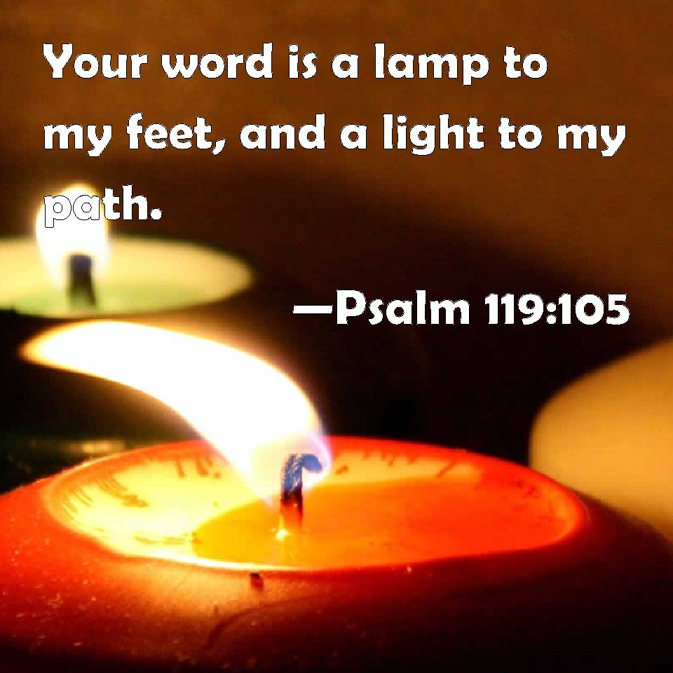 Image result for your word is a lamp niv