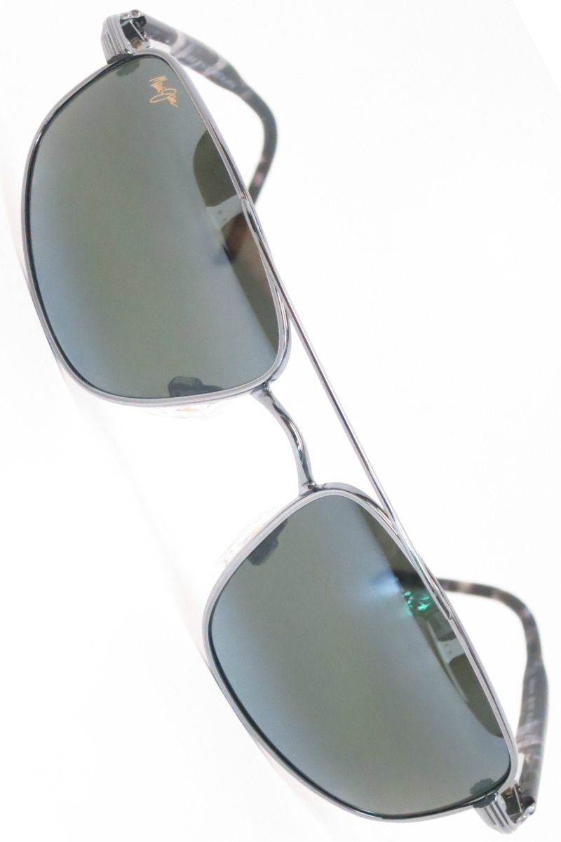 Maui Jim Kahuna MJ 162-02 Gunmetal Polarized Sunglasses