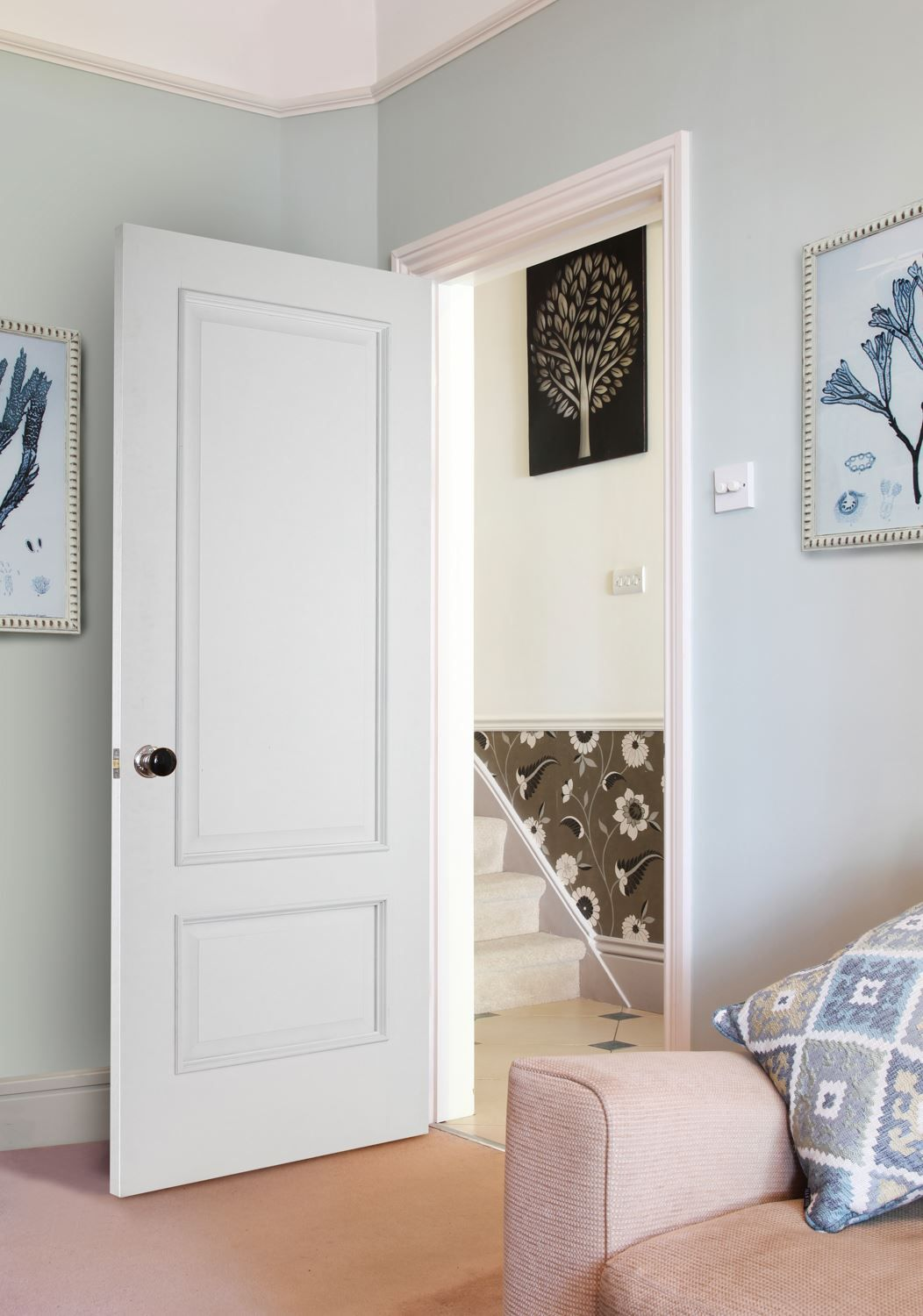 Find this Pin and more on Bespoke Doors. & Iris 2-Panel White (Bespoke) | Bespoke Doors | Pinterest | Bespoke ... pezcame.com