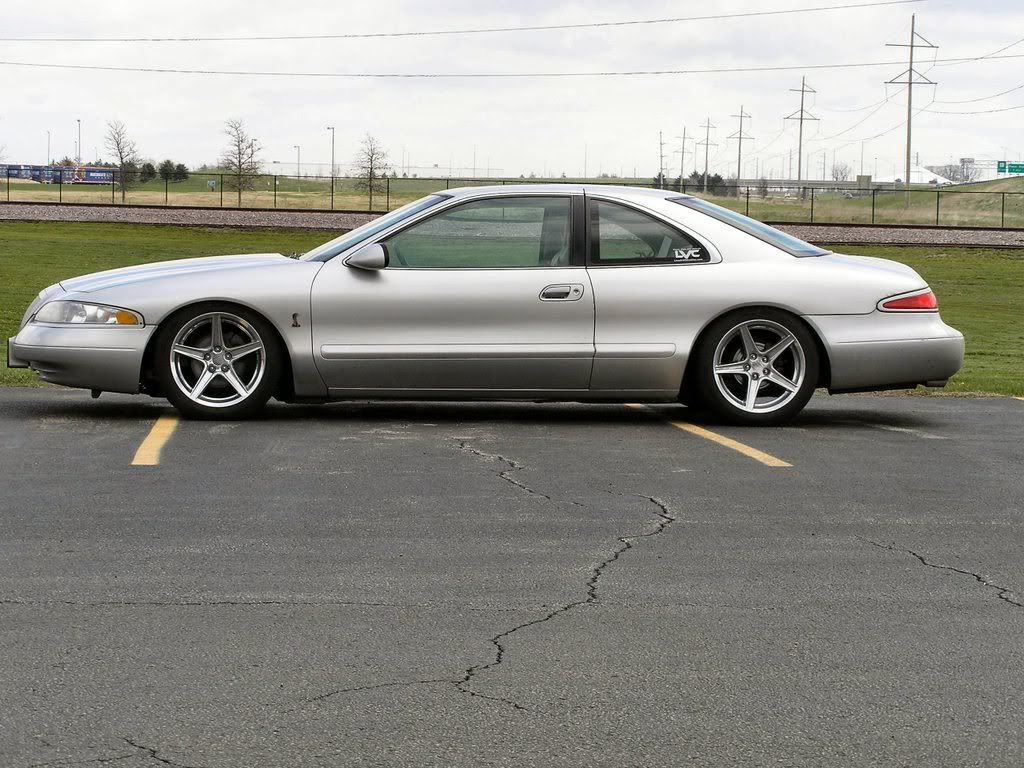 Lincoln Mark Viii Post Your Custom Wheels Lincoln Mark Viii