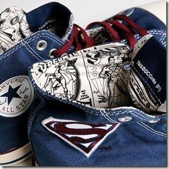 Superman Chuck Taylor All Star by DC Comics
