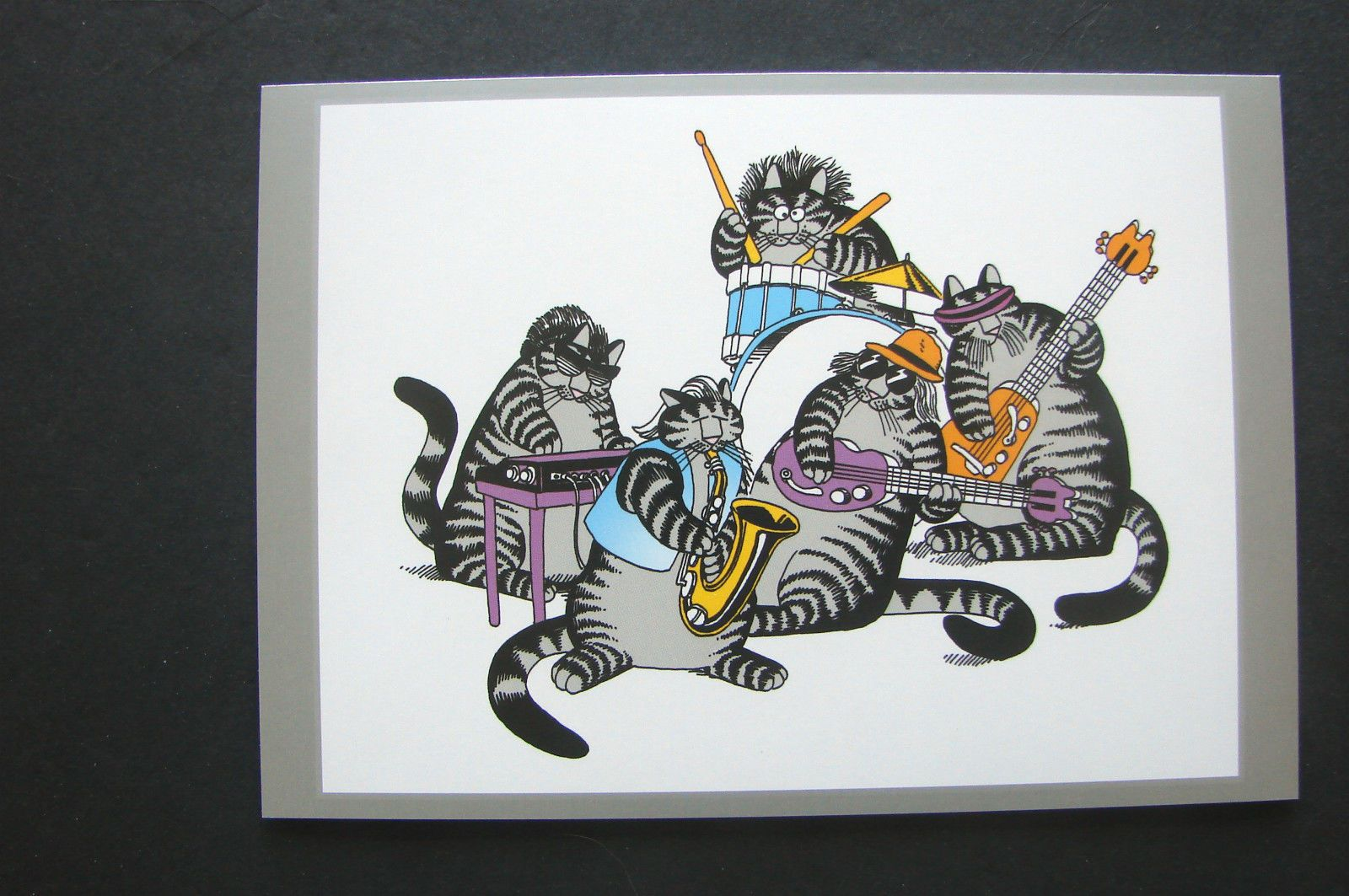 "Kliban New Year's Cat Card ""Happy Mew Year """