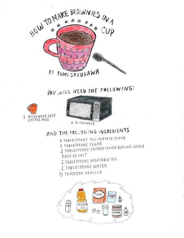 How To Make Brownies In A Mug Brownie