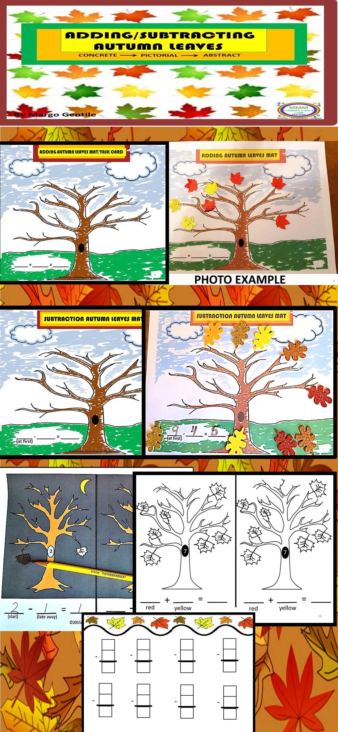 Adding Amp Subtracting Autumn Leaves