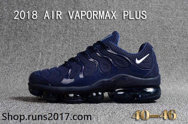 Nike Air Max TN Vapormax Plus 2018 Navy Blue Men Shoes