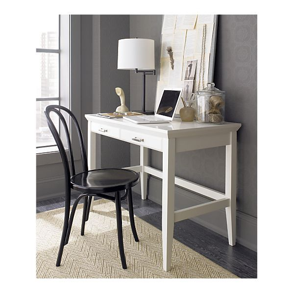 Another Good Desk Option In The Right Size, Paterson White
