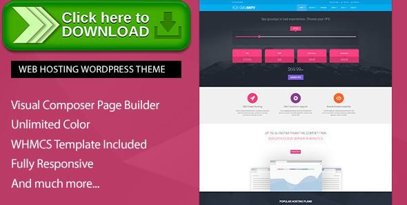 ThemeForest]Free nulled download Dataserv - Professional Hosting ...