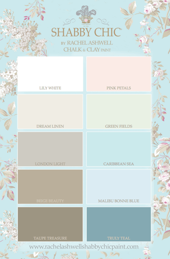 Introducing SHABBY CHIC® by Rachel Ashwell Chalk and Clay Paint - Bungalow 47