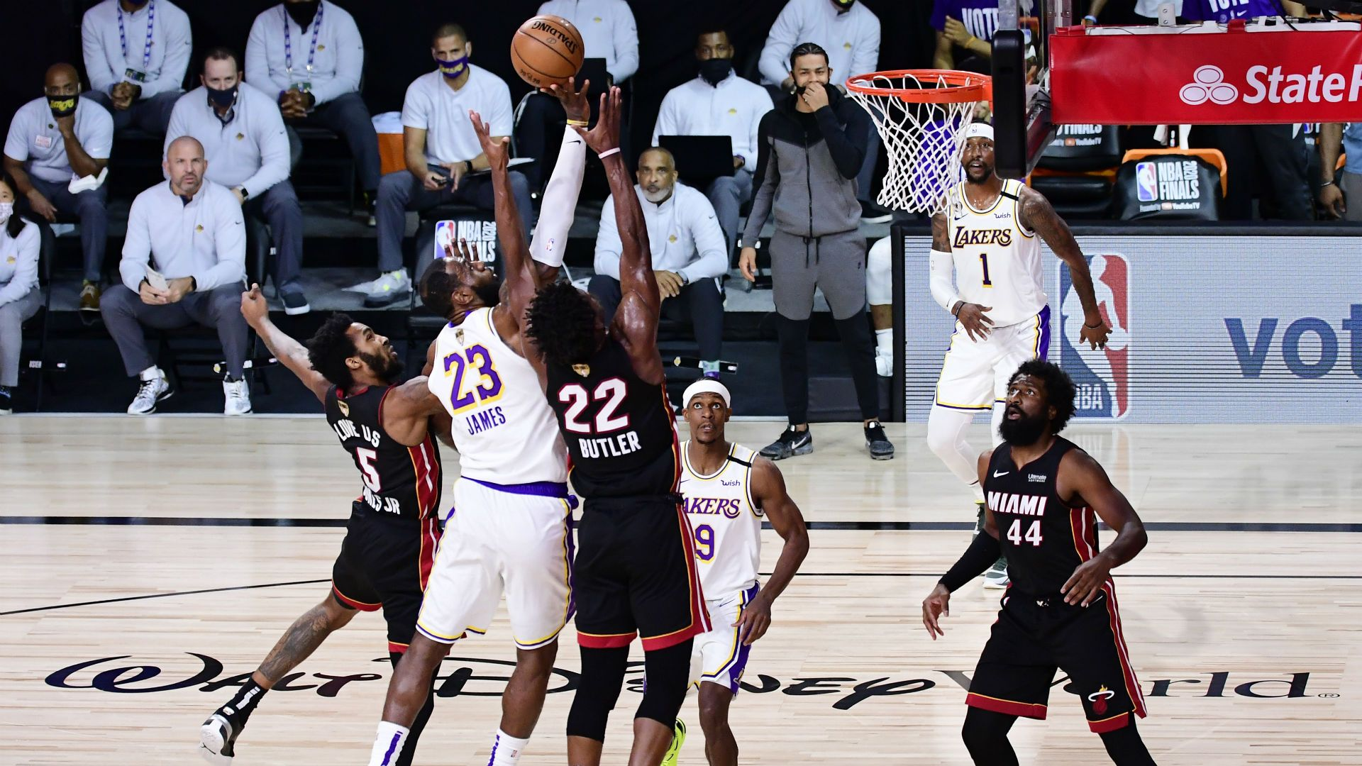 Lakers Vs Heat Live Score Updates Highlights From Game 5 Of The 2020 Nba Finals En 2020 Nba
