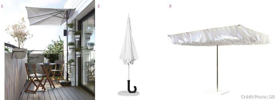 parasol d port parasol rectangulaire demi parasol 12. Black Bedroom Furniture Sets. Home Design Ideas