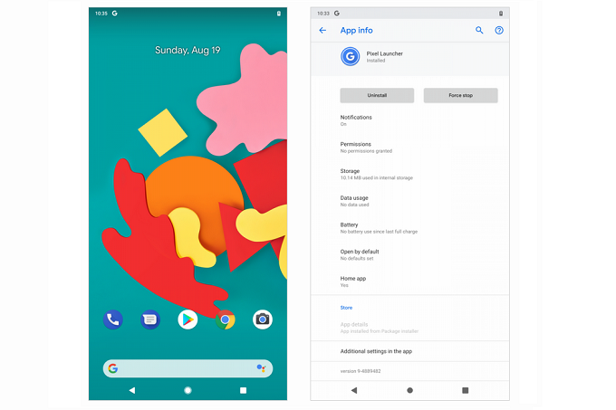 Google testing revised Pixel launcher that features one
