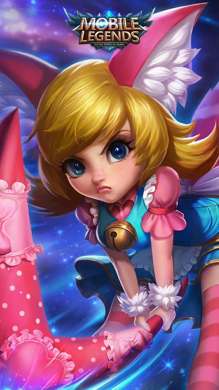 Cute Nana Mobile Legends Wallpaper