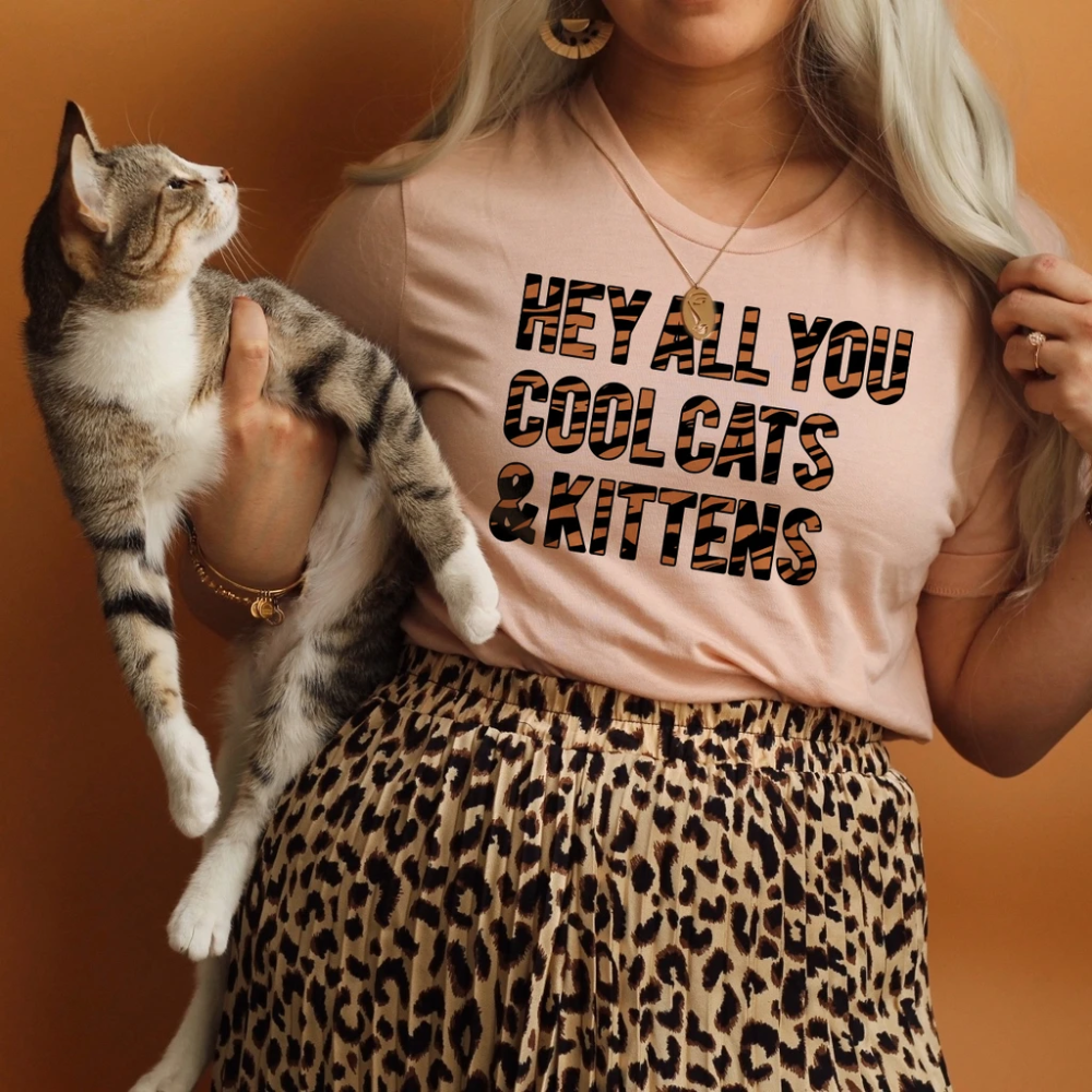 Hey All You Cool Cats and Kittens Tiger Shirt in 2020