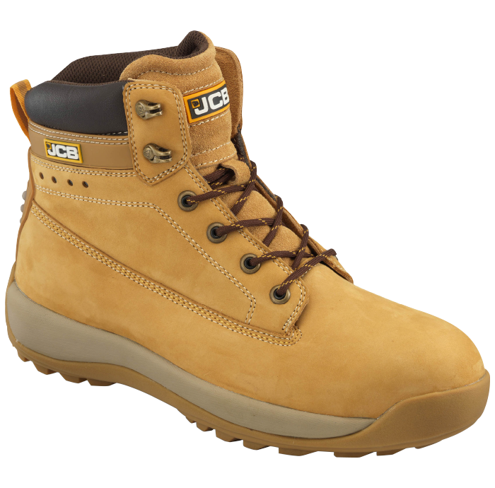 e6563d8b26fa JCB WaterProof Workwear Boots - JCB 5 CX / H Water resistant, honey cow  nubuck Heel – Padded polyurethane, backed with mesh lining Padded tongue 6  Loop ...