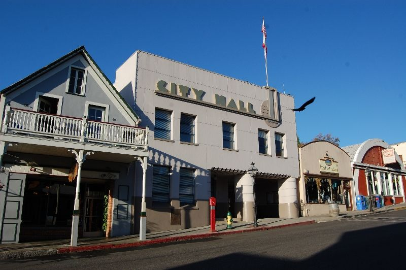 City Hall In Downtown Nevada City California One Of Many Historic Properties In Nevada City Nevada City Nevada City California Nevada