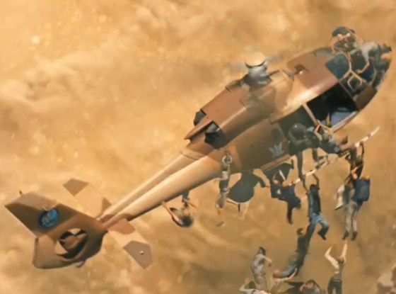 world war z helicopter zombies World War Z Movie Clip I Cant Leave My Family