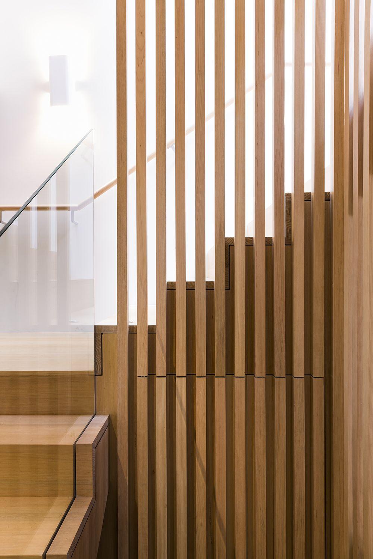 Gallery Of South Melbourne House Mitsuori Architects 14 Moderne Stiegen Moderne Treppen Gelander Treppe