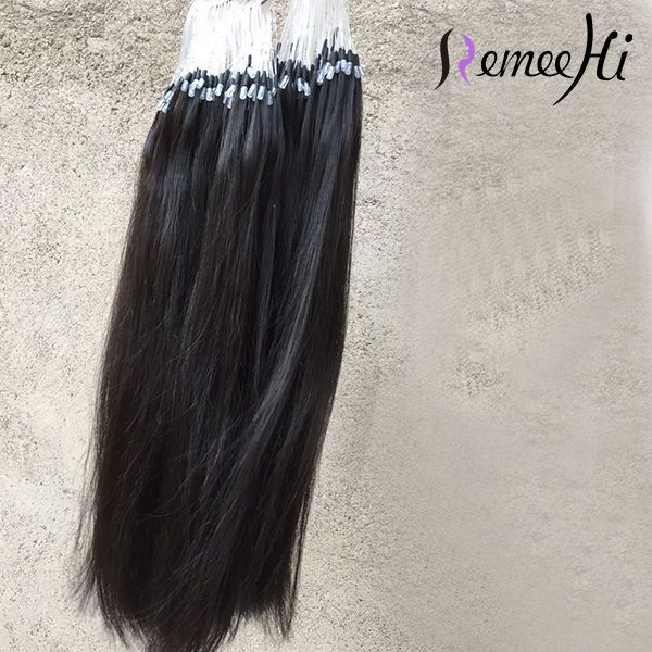 05gs Loop Micro Rings Remy Real Human Hair Extensions 16 1 High