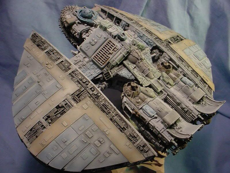 scratchbuilt large scale space ship - Google Search