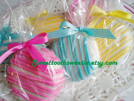 Chocolate cubierto galletas Oreo Cookies rosa por Sweettoothsweetie