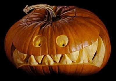 Самые необычные светильники из тыкв на хэллоуин (30 фото ...
