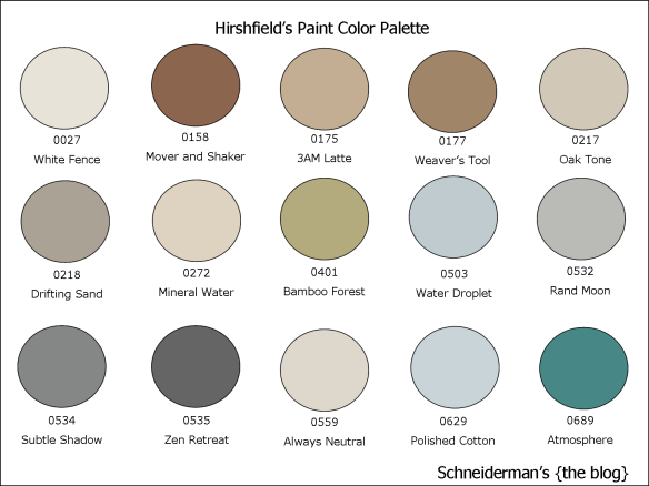 Hirshfields Paint Colors At Schneiderman S In Rochester Mn
