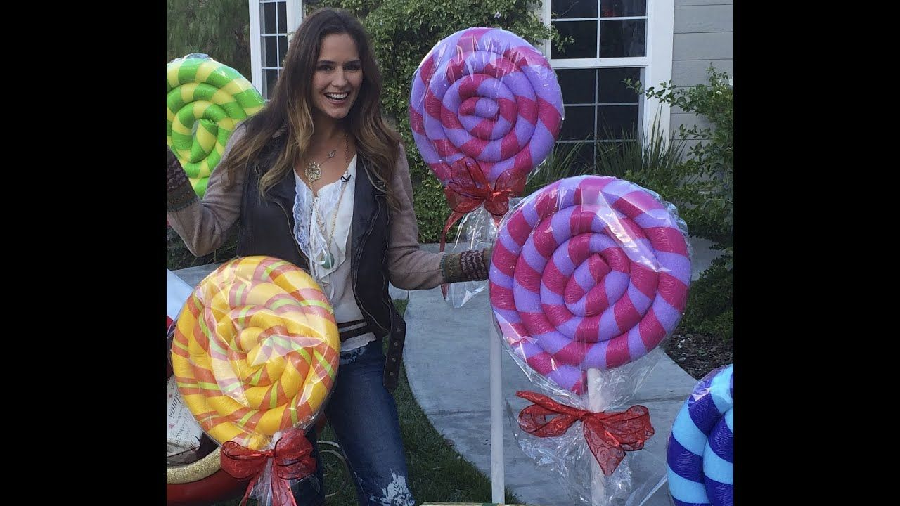 39+ Diy giant candy decorations ideas