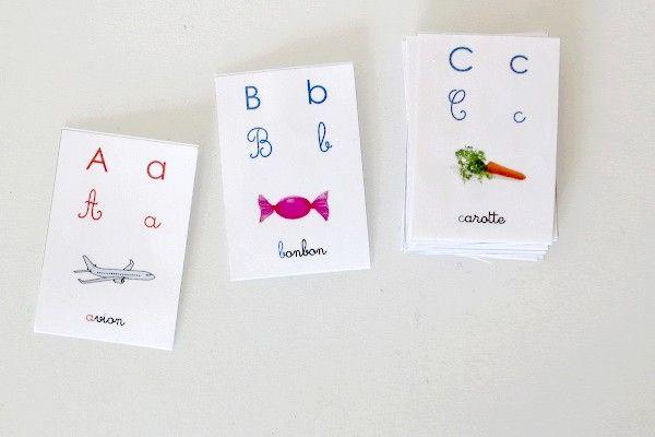 Abecedaire Montessori Abecedaire Apprendre L Alphabet