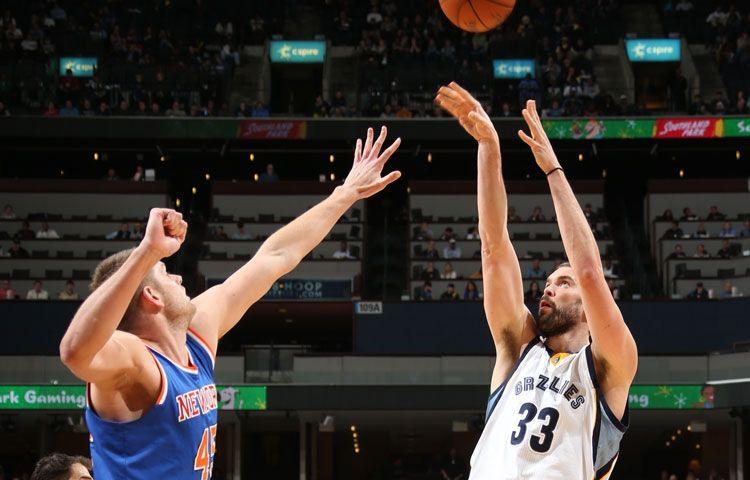 Grizzlies vs. Knicks - 1/5/15