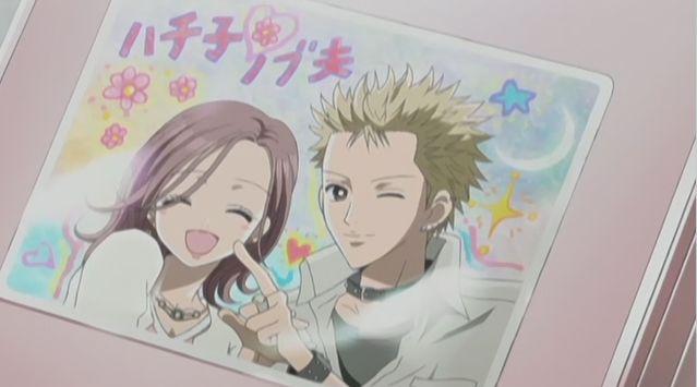 hachi and nobu nana anime nana �� pinterest anime