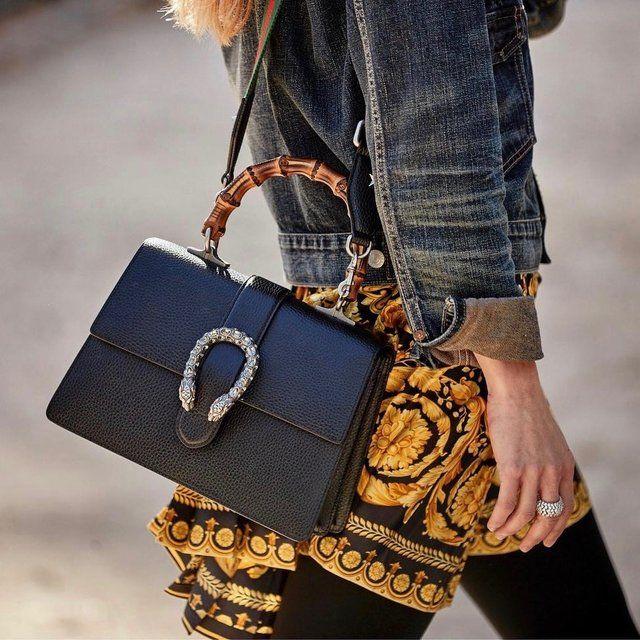 0734ce5c9 Gucci Black Mini Dionysus Top Handle Bag | bags & wallets | Bags ...