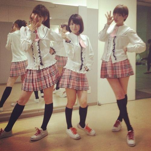 Kojiharu, Yuko and Mariko #AKB48
