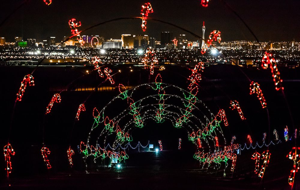 Speedway Christmas Lights.12 Holiday Things You Can Only Do In Las Vegas Favorite