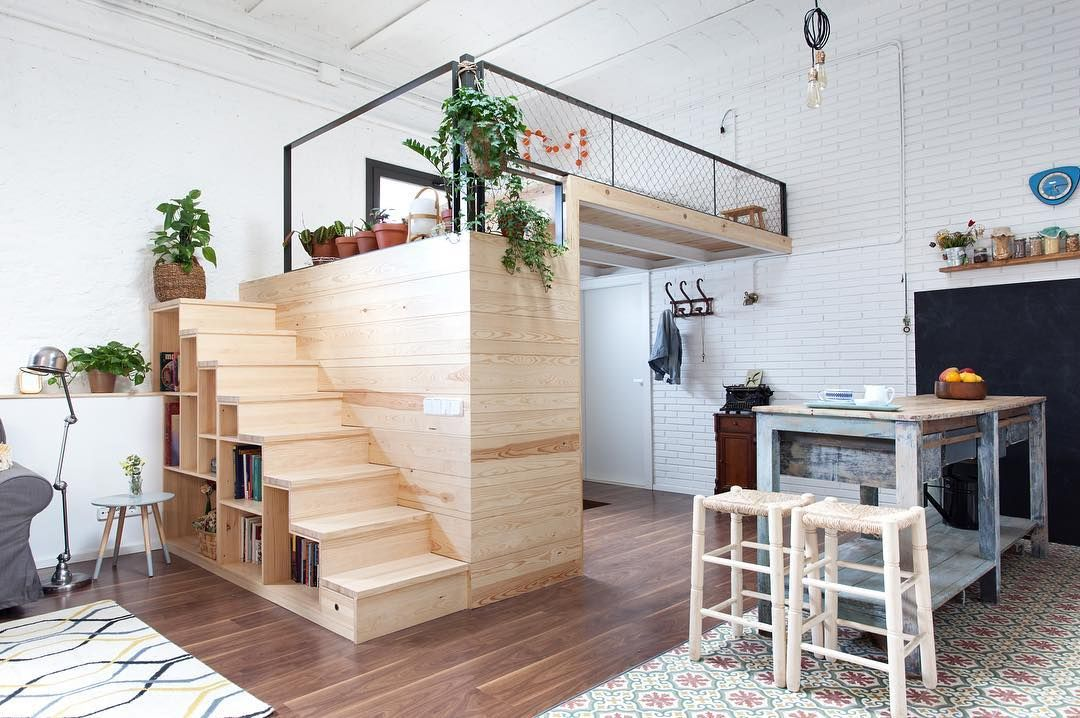 Loft Bed Design Ideas - Add Extra Space To Small Bedrooms