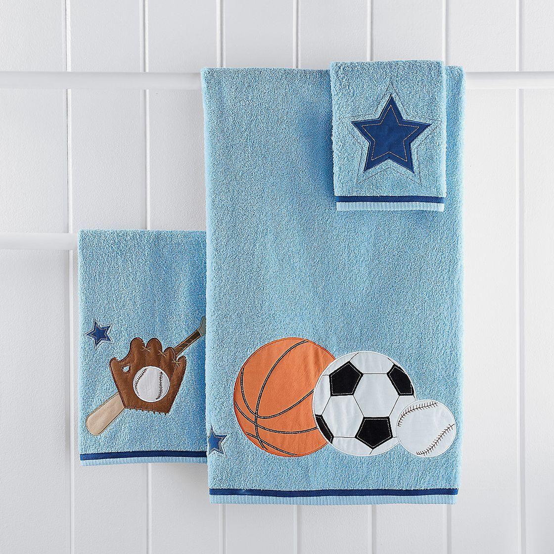 Sports Towel Set Company Kids