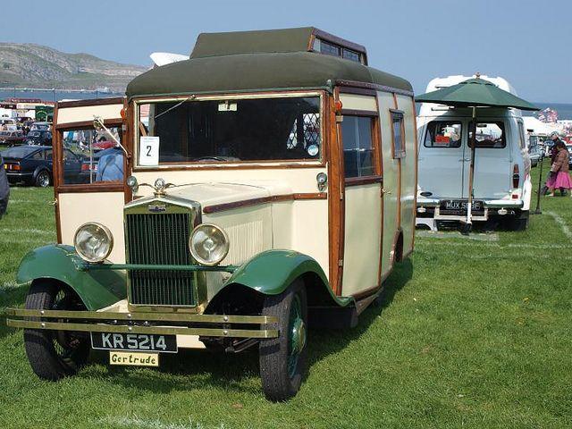 Kr 5214 1930 morris oxford caravanette autocaravanas y casas for Casa rodante clasica