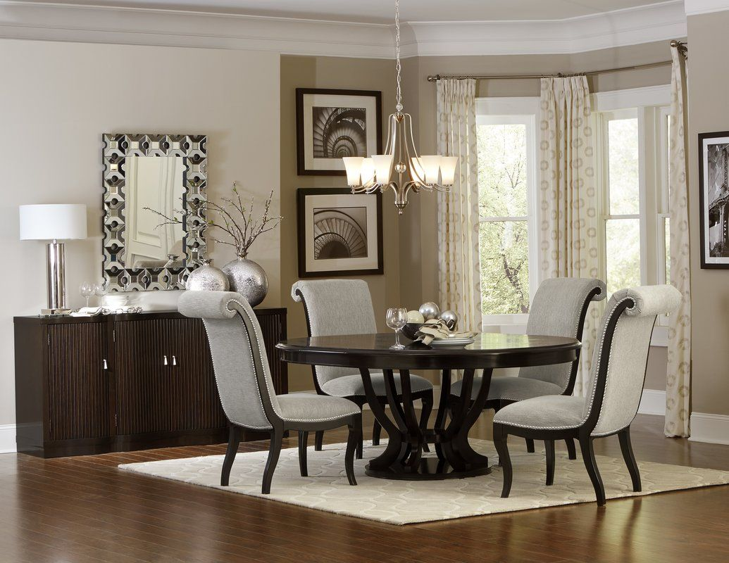 Sidra Dining Table Round Dining Room Sets Oval Table Dining