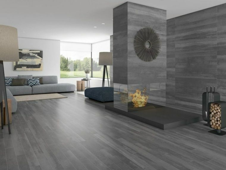 carrelage imitation parquet 50 mod les l gants parquet gris carrelage imitation parquet et. Black Bedroom Furniture Sets. Home Design Ideas