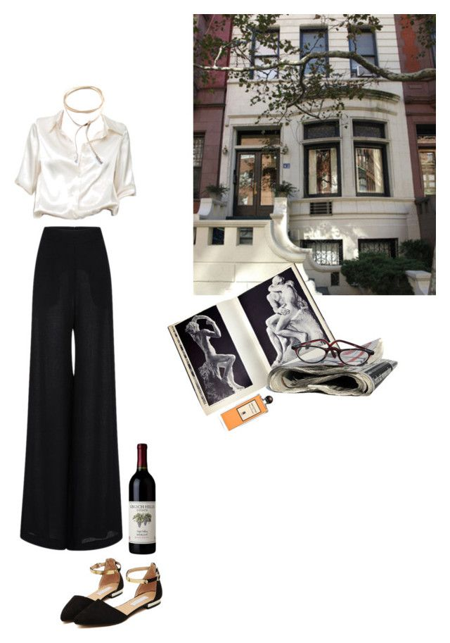"""""""what id wear today march 13th"""" by emiliahawk on Polyvore featuring Brandy Melville, Child Of Wild, Naeem Khan, Rodin and Serge Lutens"""